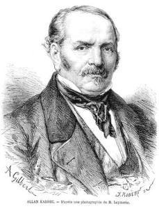 Allan Kardec, de son vrai nom Hippolyte Léon Denizard Rivail, né le 3 octobre 1804 et mort le 31 mars 1869