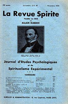 La Revue Spirite et la S.P.E.S. sont transférées : au 59, passage Ste-Anne Paris 2e