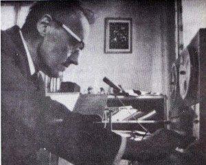 """Le Père Léo Schmid s'est intéressé aux """"voix"""" de manière très intense, avec l'autorisation de ses supérieurs."""