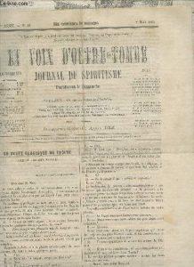 fondation du journal bimensuel : Le Spiritisme